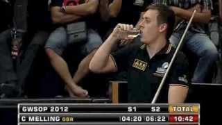Guinness World Speed Pool Championships 2012 Karl Boyes vs Chris Melling