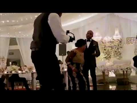 Banky W And Adesua Etomi's White Wedding In South Africa