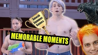 Top 10 Smosh Summer Games Moments!