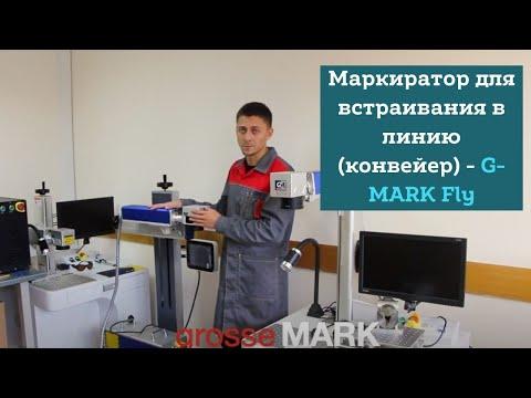 Какие маркираторы покупают заводы? Маркиратор для встраивания в линию (конвейер) - G-MARK Fly