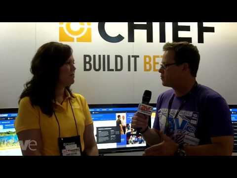 InfoComm 2013: Gary Kayye Interviews Chief's Karen Mefford