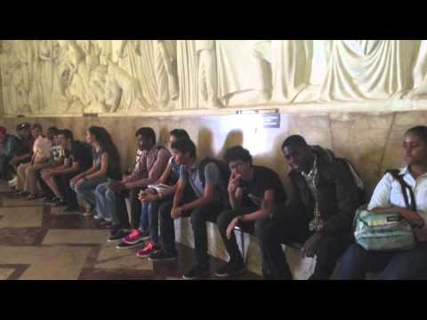 Voyage scolaire des 2B du LFRD de Kinshasa