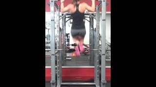 9 Wide Grip Pull Ups! - Another expression of GIRL POWER!