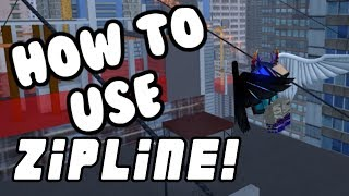 How To Use Zipline Kit/Mag Rope! | Parkour (Roblox)