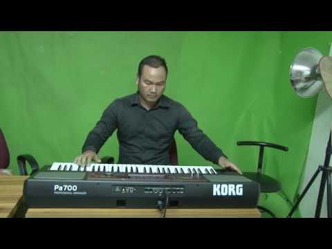 Demo style and sound khmer by keyboard KORG PA700