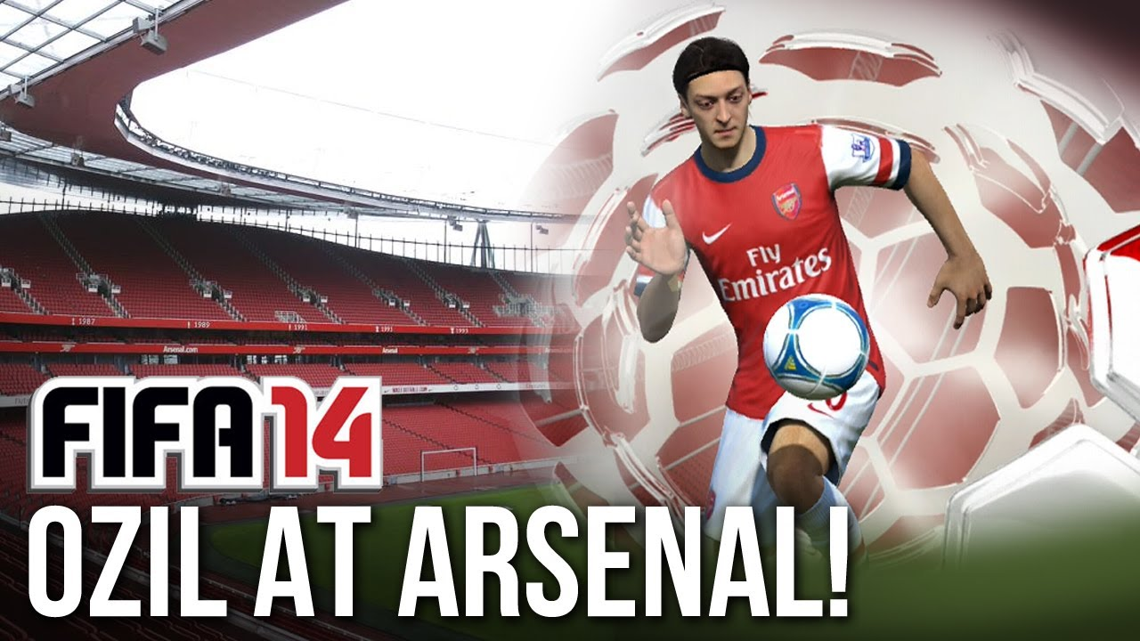 Fifa 13 ozil signs for arsenal arsenal will be amazing on fifa 14 arsenal will be amazing on fifa 14 h2h youtube voltagebd Images