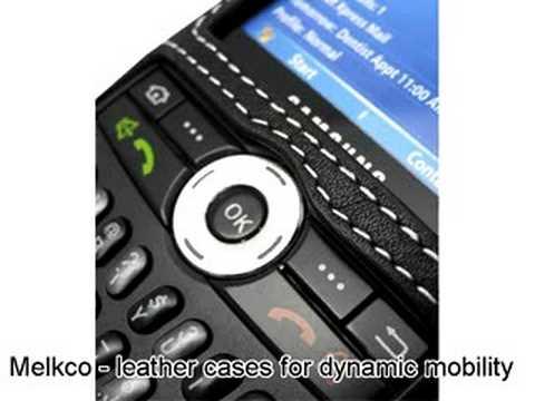 Melkco Tasche Leder Etui cuir ~Samsung SGH-i600 Sleeve Type (Black)