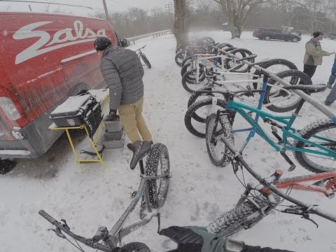 Salsa Cycles Fatbike Demo Day 2015 Allaire State Park Farmingdale New Jersey Movie