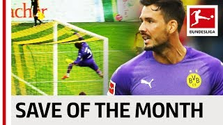 Roman Bürki - Save Of The Month for August