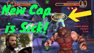 Captain America IW is Sick! 53k L2! - Marvel Contest Of Champions