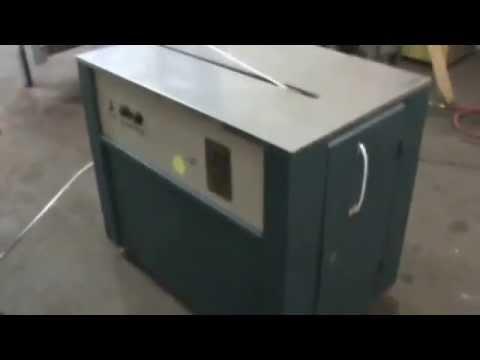 USED CARTON STRAPPING MACHINE: Semi Automatic Plastic