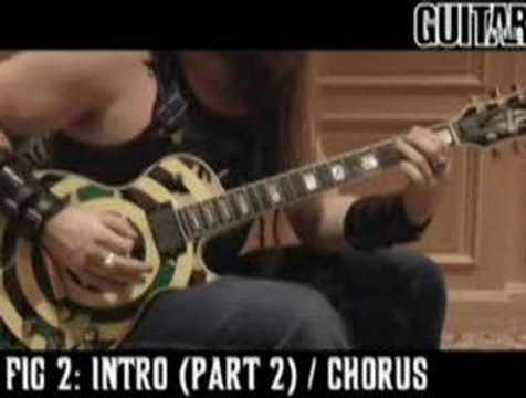 Awesome BLS Zakk Wylde Guitar Lesson-Concrete Jungle