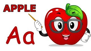 Phonics Song, Learning ABCs, Alphabet, Learn letters with fruits and vegetables