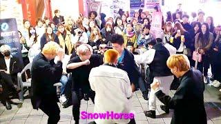 20190426_213656《BlockB_#HER》#KingdomS(킹덤즈) 블락비#헐 홍대버스킹 #Snow…
