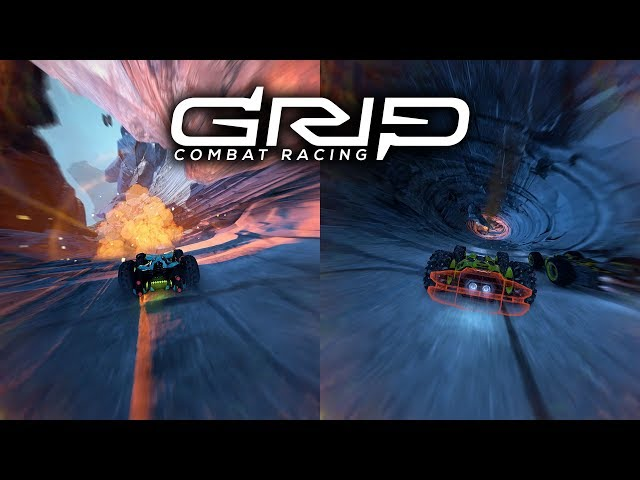 GRIP: Combat Racing Splitscreen PEGI PS4