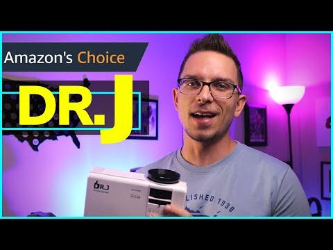 Dr. J 3600L HI-04 Projector Review (An Amazon Best Seller)