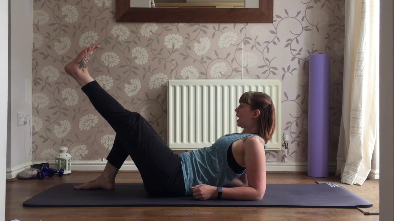 Pilates Hip Release and Strengthen - YouTube