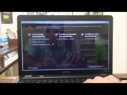 How to ║ Restore Reset a Compaq Presario CQ56 to Factory Settings ║ Windows 7