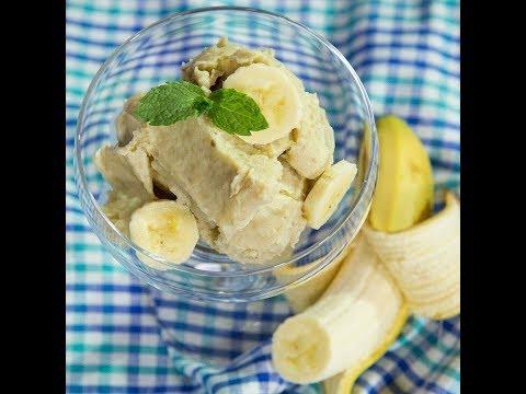 Înghețată de banane