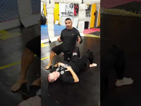 Counter Roll into Hug of Death