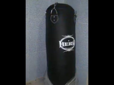 comment installer un sac de boxe a la maison youtube. Black Bedroom Furniture Sets. Home Design Ideas