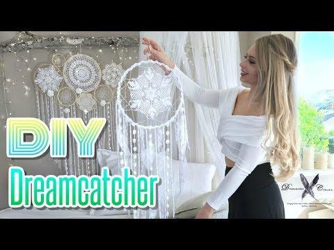 DREAMCATCHER DIY Tutorial  | How to make a dreamcatcher