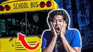 24 Hours Trapped In Abandoned School Bus!
