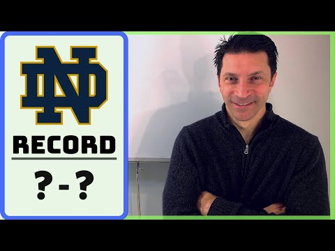 THE ACC IMPACT / 2019 Notre Dame Fighting Irish RECORD PROJECTION & SCHEDULE RANKING