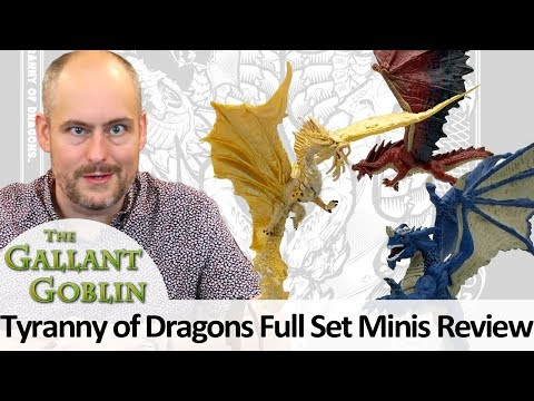 Tyranny of Dragons Minis Full Review – D&D Icons of the Realms