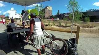 Havemeyer Bike Park, Williamsburg Brooklyn, Aug 2013