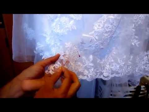 hemming-a-wedding-gown-with-applique