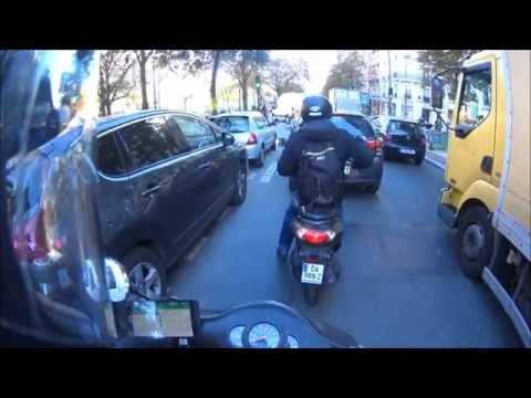 scooter ride in Paris episode 1