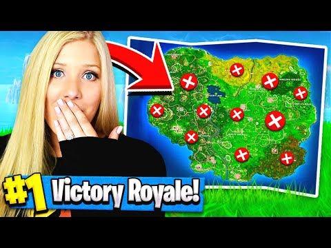Using MY GIRLFRIEND to WIN Fortnite: Battle Royale?!