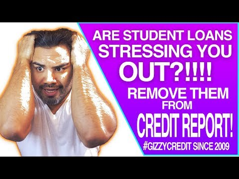 MUST SEE! 16 Student Loans Removed / 193 credit score jump IN 60 DAYS #gizzycreditteam