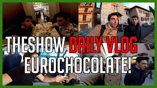 Ci Abbuffiamo alla Fiera del Cioccolato di Perugia! - THESHOW DAILY VLOG - EUROCHOCOLATE - deSciò
