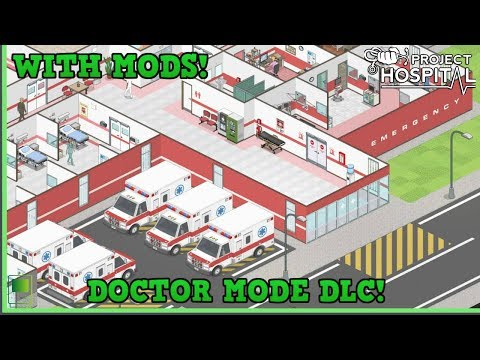 Let's Play Project Hospital - Doctor Mode - Ambulances 🚑 |