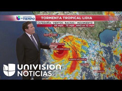 Huracán Irma y tormenta Lidia toman fuerza, uno en el Atlántico y la otro en el Pacífico