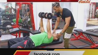 IBNLokmat Special Show on Exercise  - Fitness Funda