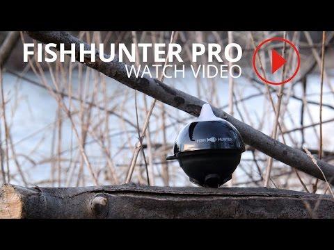 Fishhunter ice fishing flasher doovi for Ibobber ice fishing