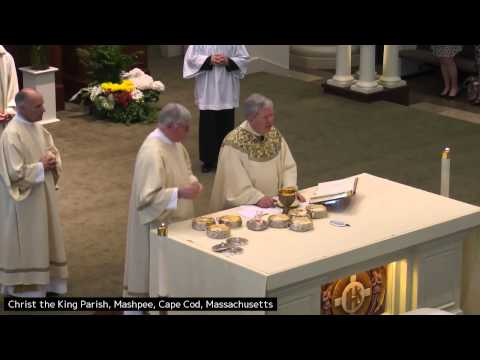First Comunion Mass ~ Msgr  Daniel Hoye