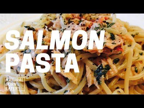 Smoked Salmon Pasta Recipe | Creamy Pasta | 2017 |  Natural Born Eater