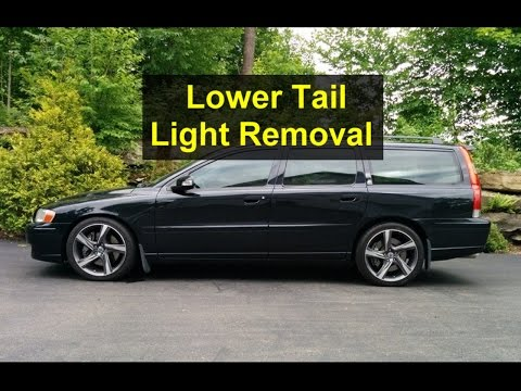 How To Replace Taillight Bulbs 01 07 Volvo V70 Doovi