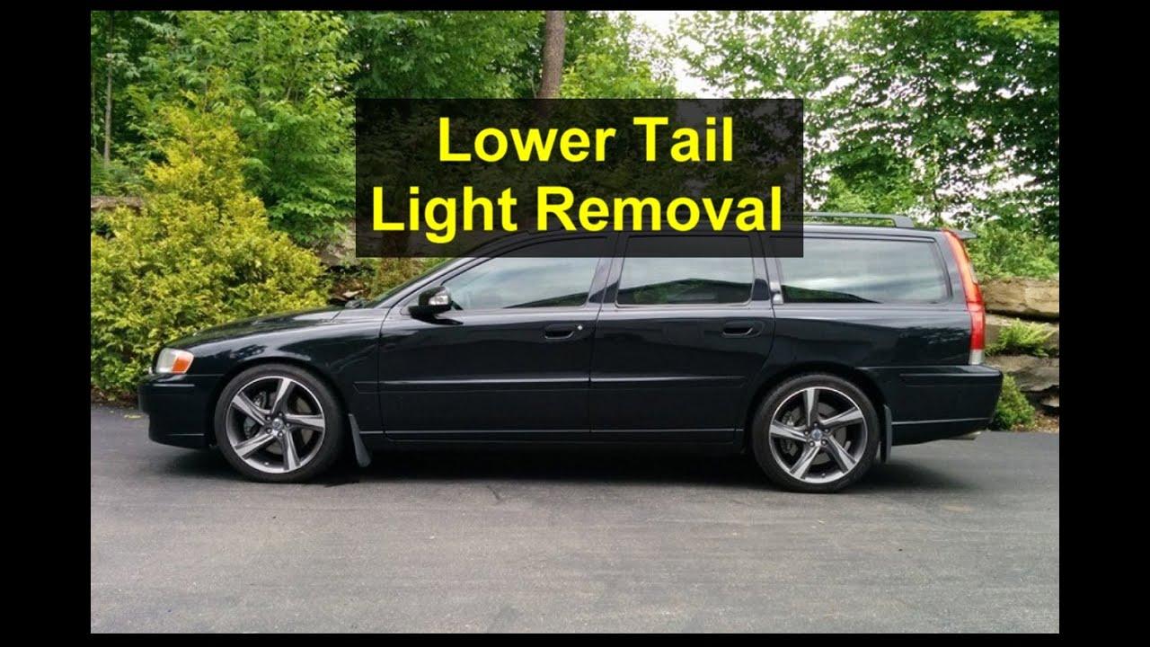 Custom Volvo S60 >> Lower light assembly removal, P2 Volvo wagon, V70 XC, R ...