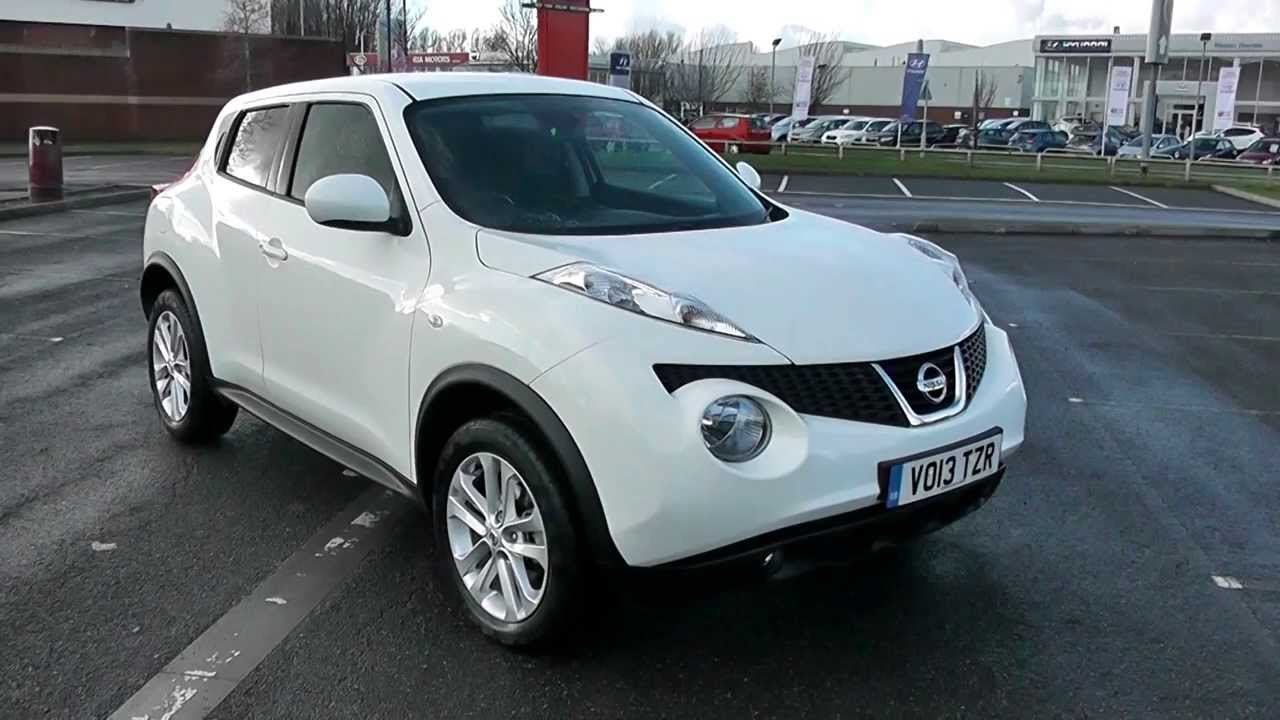 nissan juke acenta premium dci 1 5 diesel white. Black Bedroom Furniture Sets. Home Design Ideas