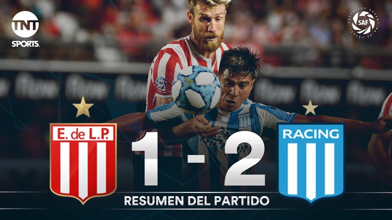 Resumen de Estudiantes LP vs Racing (1-2)   Fecha 23 - Superliga Argentina 2019/2020