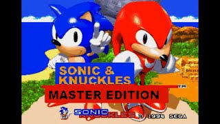 Sonic Hack Longplay - Sonic & Knuckles: Master Edition (Knuckles)