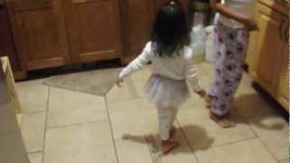 Baby dancing to indian music