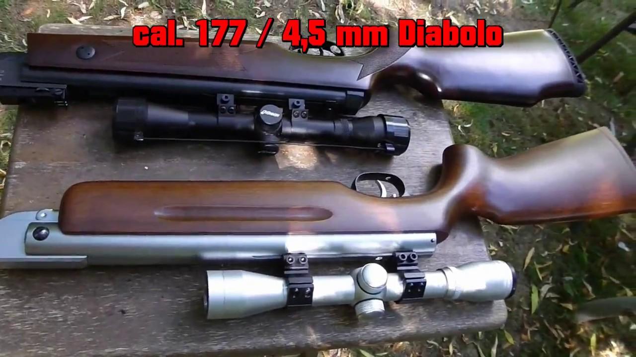 Weihrauch hw 35 k & hämmerli hunter force 750 combo luftgewehr