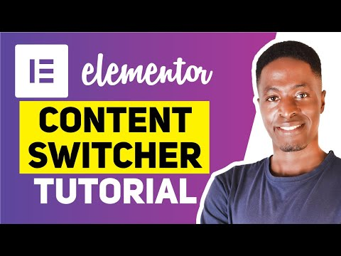 FREE ELEMENTOR CONTENT SWITCHER TUTORIAL (Switch Pricing Lists, Menus, Schedules)