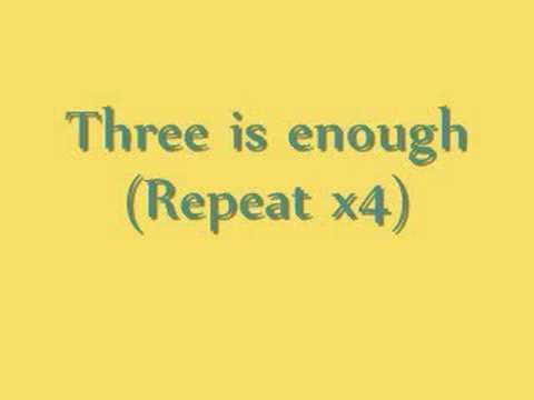 Nbb Three is enough lyrics